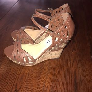 Sbicca of CA Kutout wedge sandal US 7